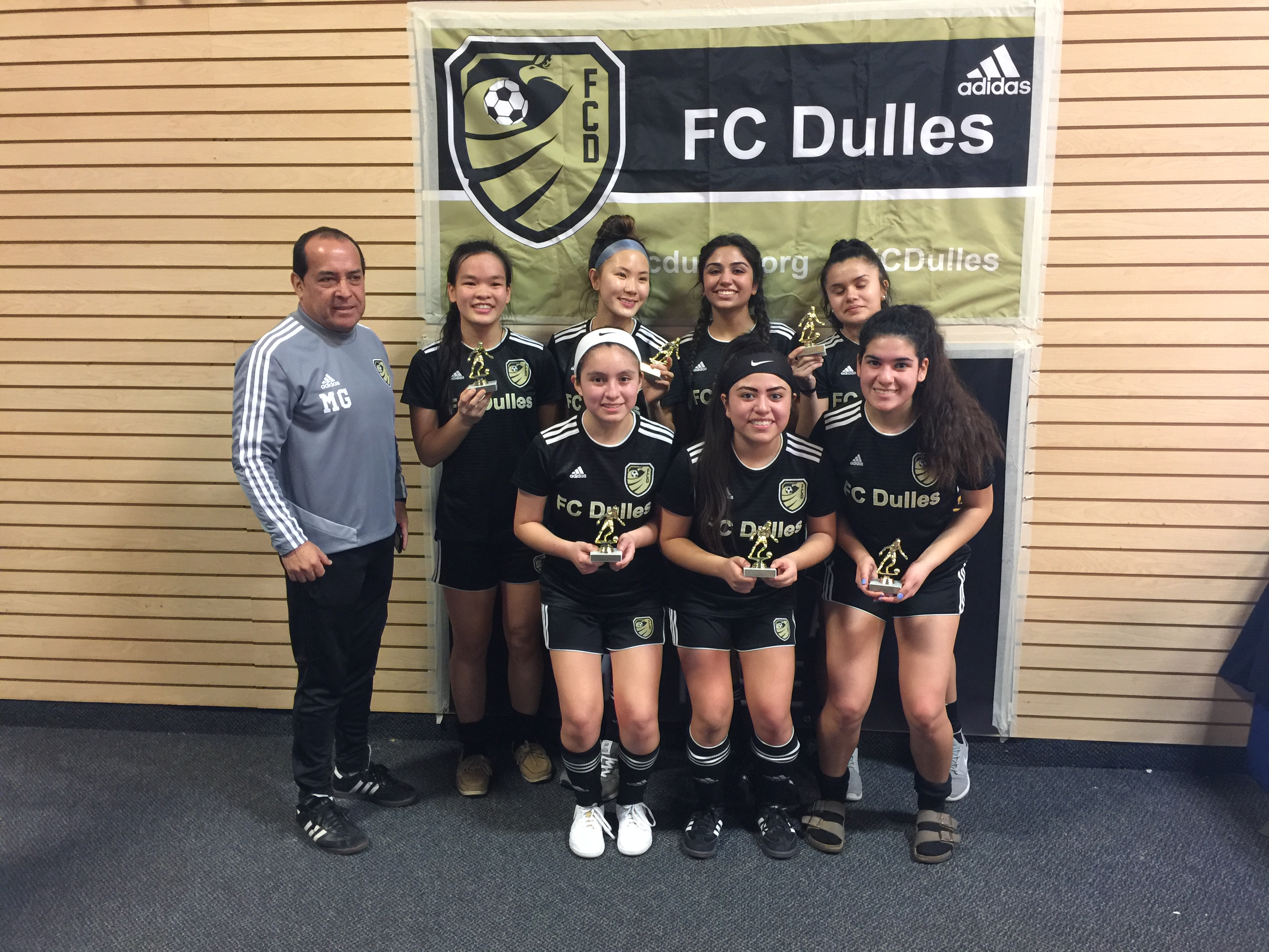 FC Dulles Winter 2018-19 Futsal League Champions Crowned!